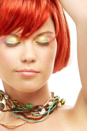 couleur cuivre extravagantes photo coupe carree - Coloration Cuivre