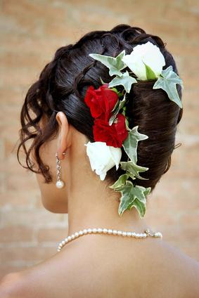 Les concepteurs artistiques: Accessoires cheveux pour chignon mariage